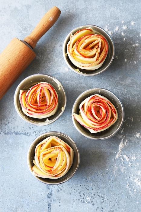recette de Roses des pommes