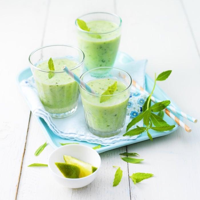 recette de Smoothie vert au St Môret
