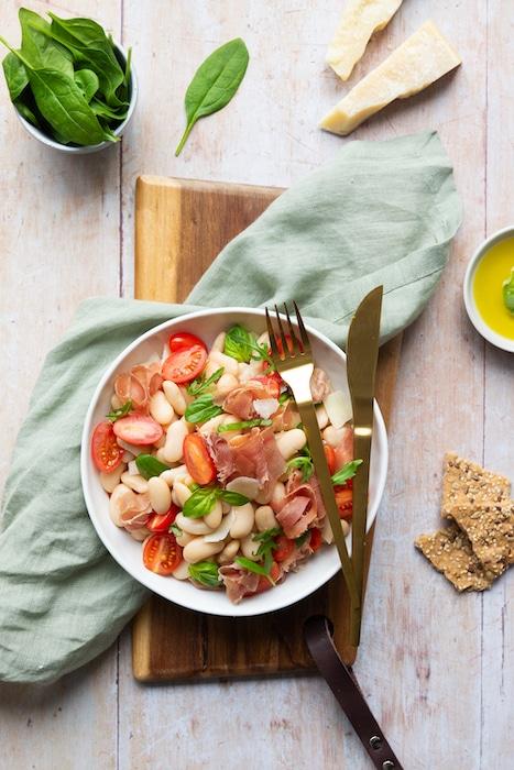 recette de Salade italienne aux haricots Tarbais