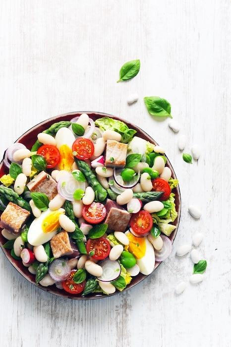 recette de Salade niçoise aux Haricots Tarbais