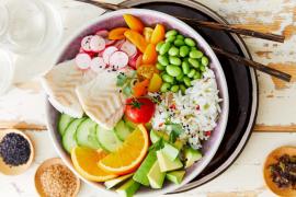 Bowl de cabillaud au riz