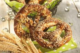 Bretzels aux graines de chia