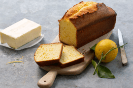 Cake au citron et au beurre