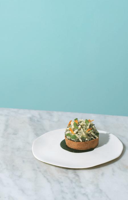 recette de dessert au Morbier