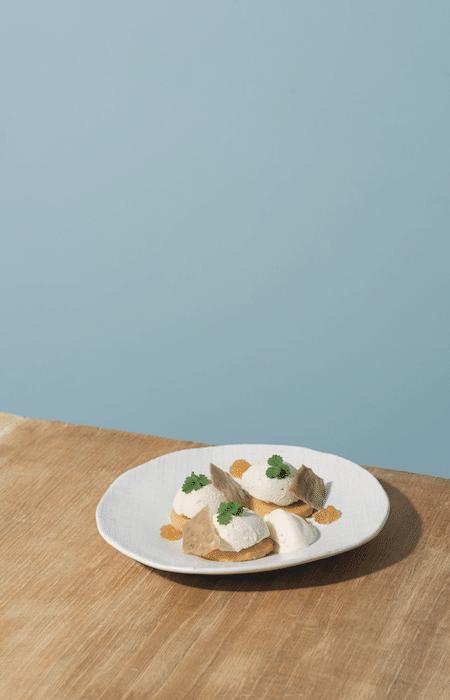 recette de dessert au bleu d'Auvergne