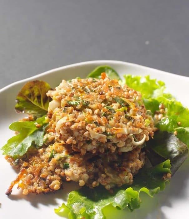 recette de Galettes de kasha aux légumes