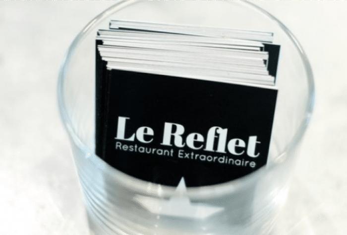 ouverture restaurant Le Reflet à Paris