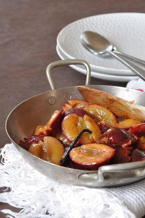recette de Poêlée de prunes