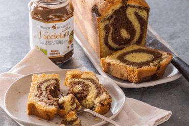 Cake marbré à la Nocciolata