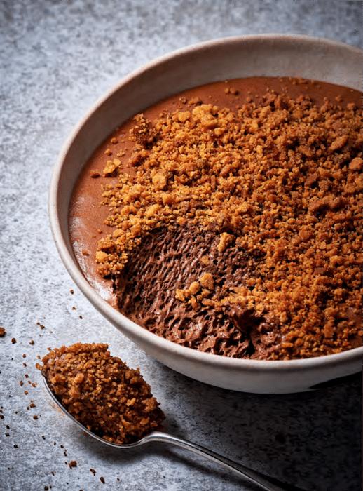 recette de Mousse au chocolat supra sablée