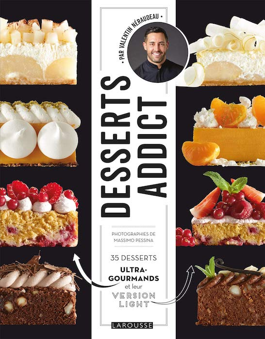 Livres de cuisine d'octobre 2019 Desserts addict
