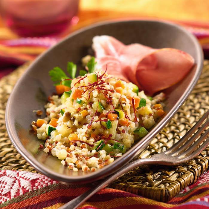recette de Risotto de quinoa aux légumes