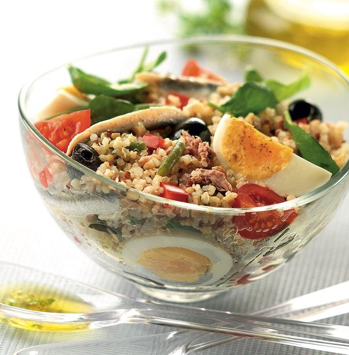 recette de Salade niçoise au quinoa