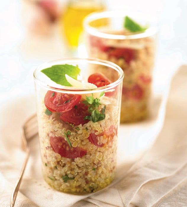 recette de Salade de quinoa aux tomates