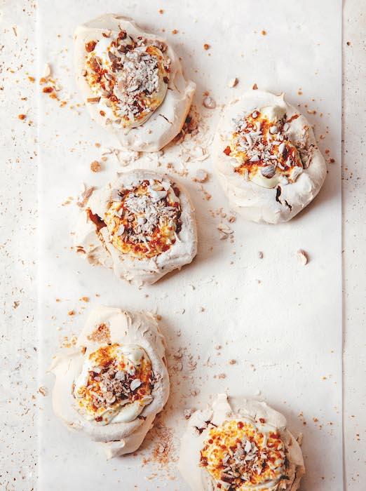recette de Meringues à la crème Trish Deseine