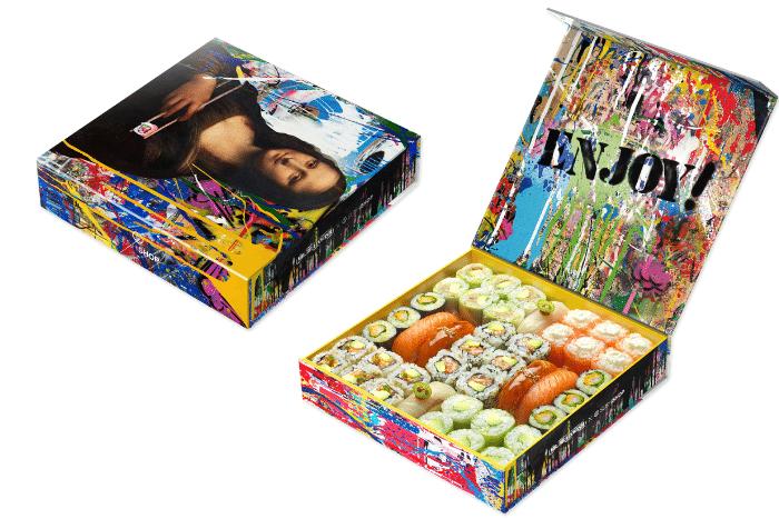 Box Mona Lisa Sushi Shop