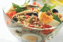 Salade niçoise au quinoa