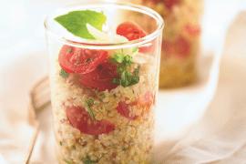 Salade de quinoa aux tomates