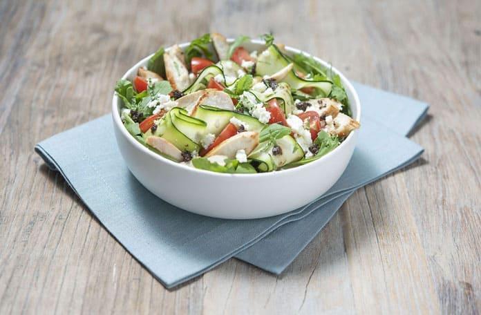 Gontran Cherrier et la Volaille Française recette de salade