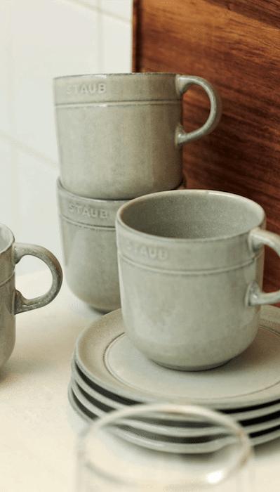 céramique Staub Truffe Blanche