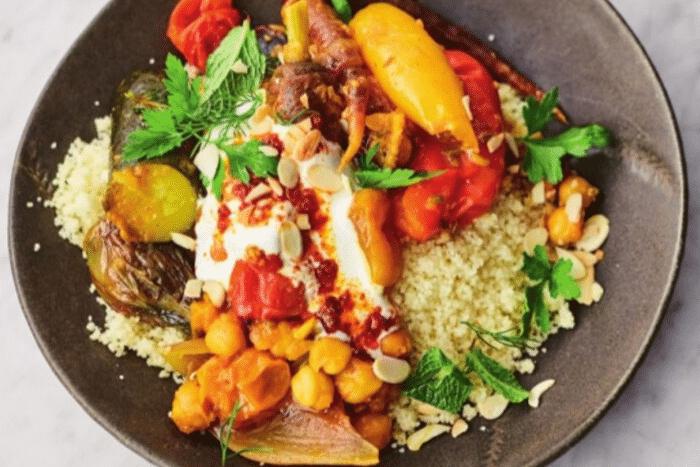 Le sublime tagine de légumes de Jamie Oliver