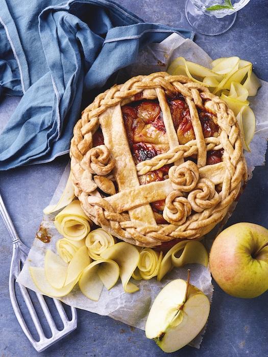 recette de Tourte aux pommes du Limousin