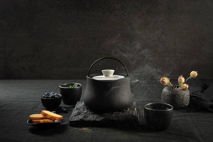 Le Tetsubin de Beka, la théière en fonte de fer au look design