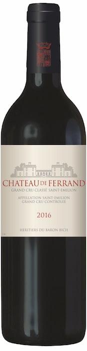 millésime 2016 de Château de Ferrand
