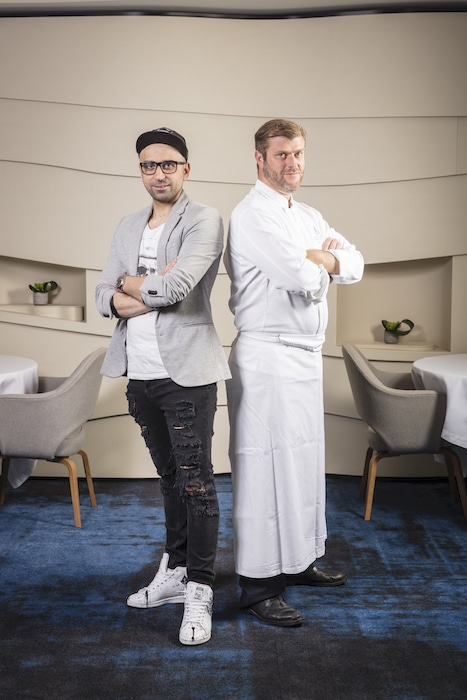 Chefs & Bartenders : Christopher Coutanceau & Christopher Gaglione