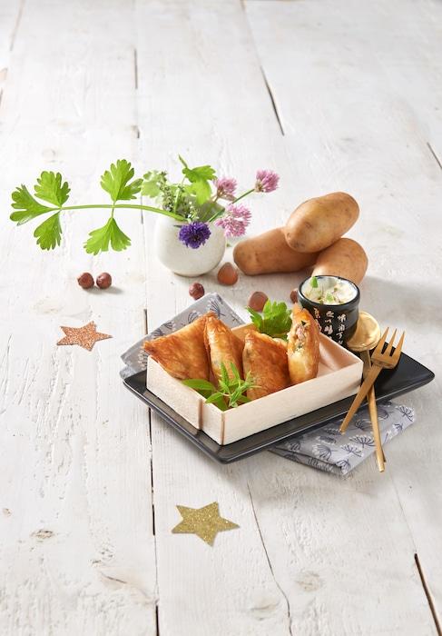recette de Samossas de pommes de terre