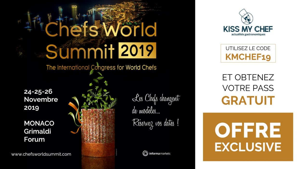 Chefs World Summit 2019 Pass
