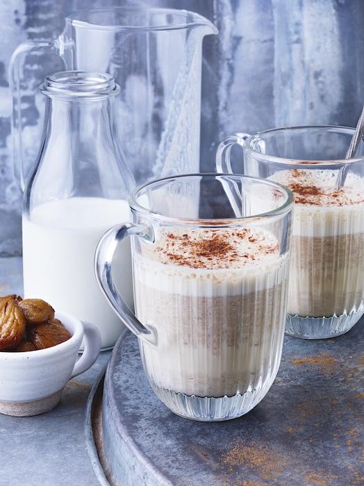 recette de Latte à la châtaigne