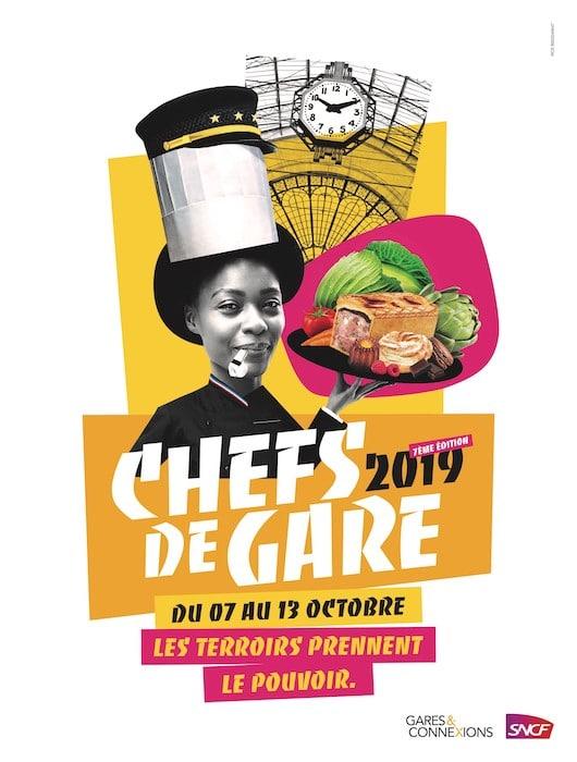 Chefs de Gare Les événements gastronomiques d'octobre 2019