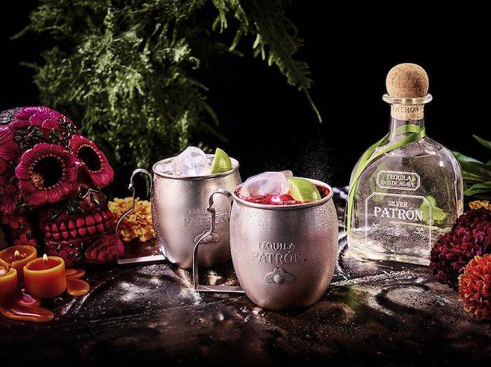 el dia de los muertos Tequila Patron