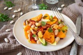 Salade de Haricots Tarbais et butternut