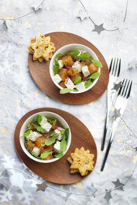 recette de Saumon gravlax au fromage frais
