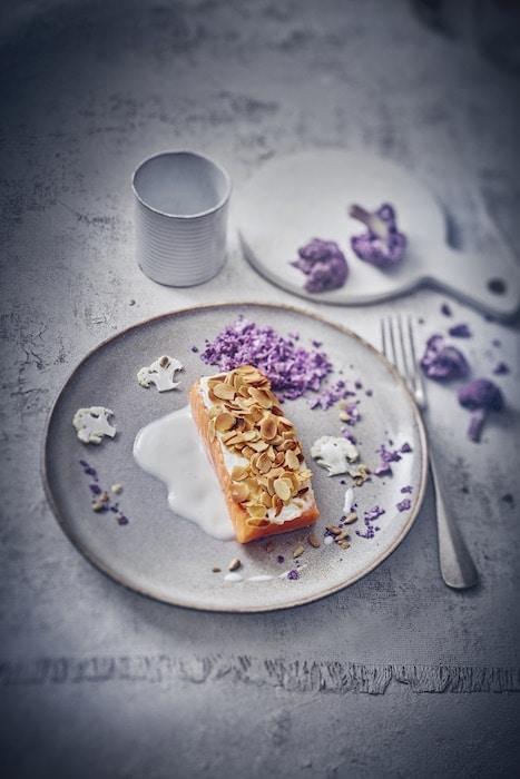 recette de Truite aux amandes