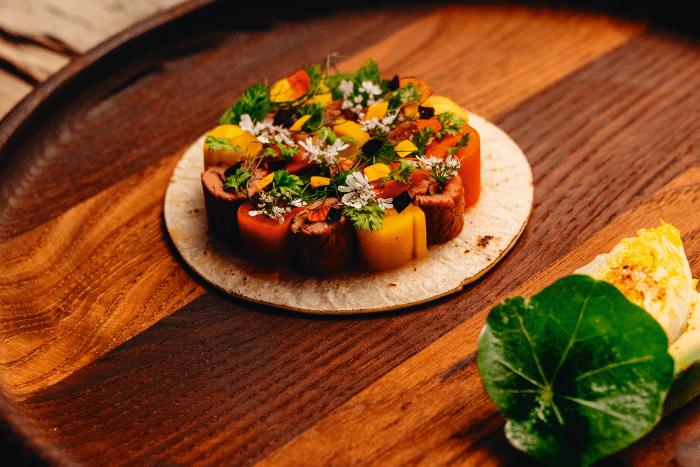 Tacos basques au piment d'Espelette, la recette du chef Julien Lefebvre