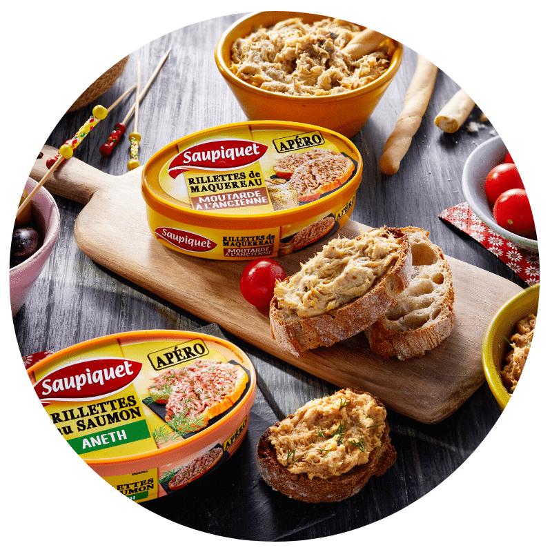 Saupiquet Nouveaux produits de novembre 2019