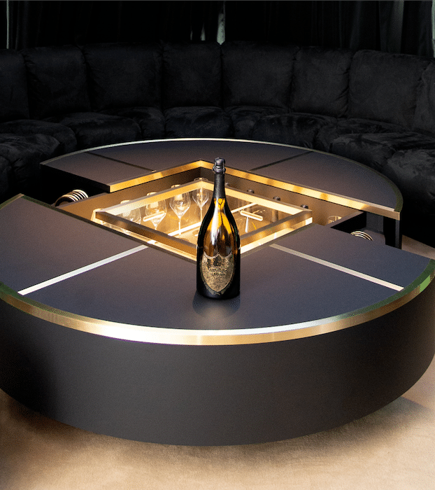 Table bar Lenny Kravitz Dom Perignon