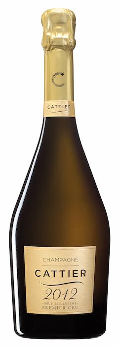 Champagne Cattier millésime 2012
