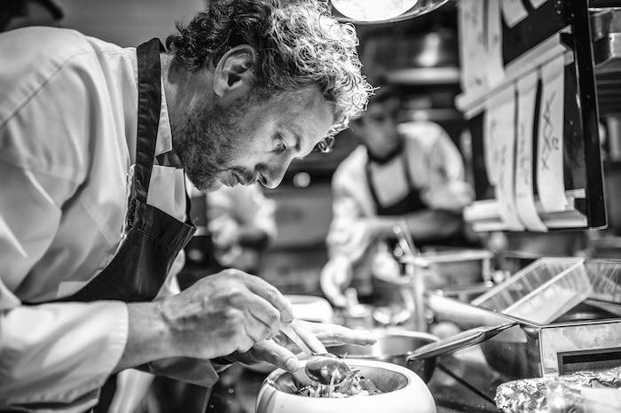 Arnaud Donckele Cuisinier de l'année 2020