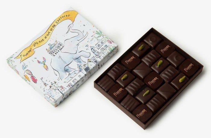 coffret Paris Exotique Chocolat Foucher