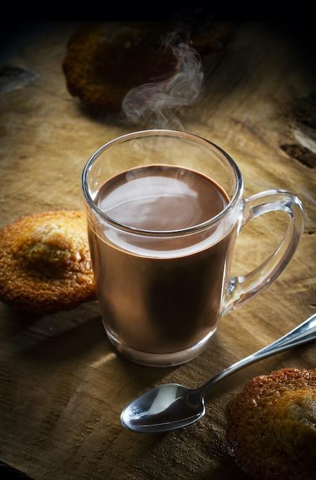 Chocolat chaud vegan Cluizel