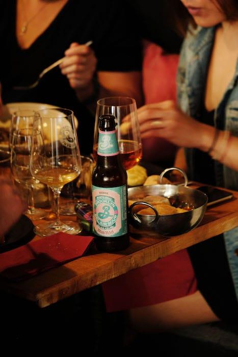 Magnum craft beer et plats simples