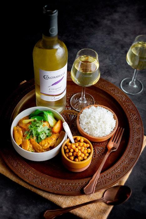 recette de Curry de légumes d'automne