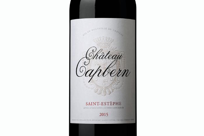 Château Capbern 2015, gourmand et fruité