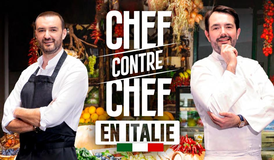 Chef contre Chef, duel culinaire en Italie