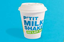 Du lait bio chez McDo