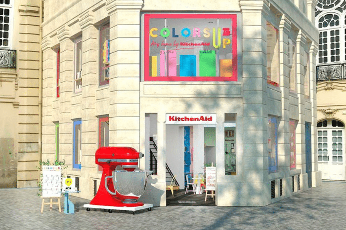 Pop up store KitchenAid